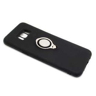Futrola MAGNETIC RING za Samsung G955F Galaxy S8 Plus crna