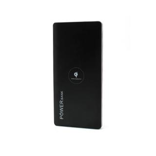 Power bank K102 10000mAh + bezicni punjac (WiFi) crno-srebrni