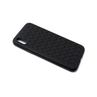 Futrola BASEUS Weaving za Iphone X/ Iphone XS crna