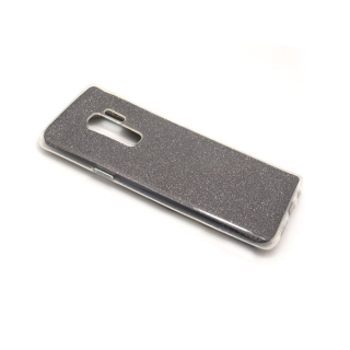 Futrola silikon GLITTER za Samsung G965F Galaxy S9 Plus siva