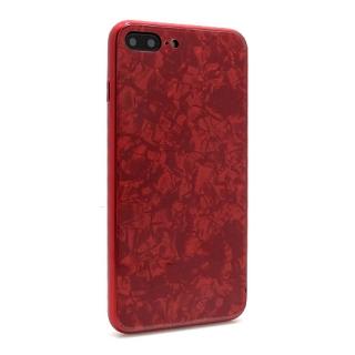 Futrola GLASS Crystal za Iphone 7 Plus/Iphone 8 Plus crvena