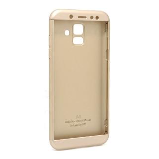 Futrola PVC 360 PROTECT za Samsung A600F Galaxy A6 2018 zlatna