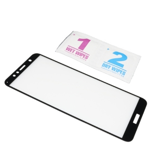 Folija za zastitu ekrana GLASS 3D za Huawei Y7 Prime 2018/Honor 7C crna