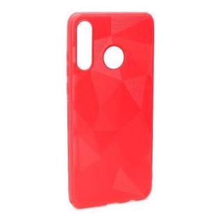Futrola silikon 3D SHAPE za Huawei P30 Lite crvena