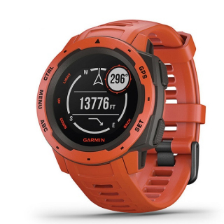 Ručni Outdoor GPS sat Garmin Instinct Flame Red