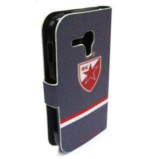 Futrola BI FOLD Comicell Crvena zvezda za Samsung S7562/S7560/S7580/S7582 Galaxy model 2