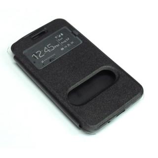 Futrola BI FOLD silikon za Samsung G355H Galaxy Core II crna