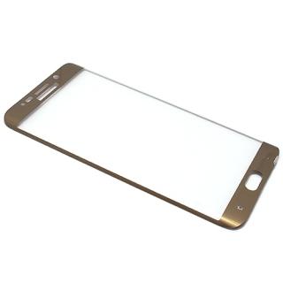 Folija za zastitu ekrana GLASS za Samsung G928 Galaxy S6 Edge Plus zakrivljena zlatna