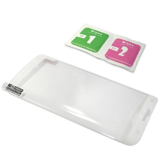 Folija za zastitu ekrana za Samsung G928 Galaxy S6 Edge Plus zakrivljena bela