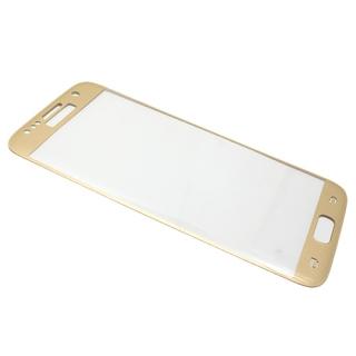 Folija za zastitu ekrana GLASS za Samsung G930 Galaxy S7 zlatna