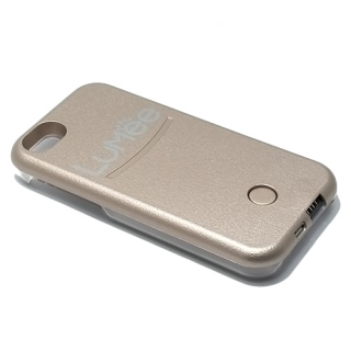 Futrola PVC LUMEE SELFIE za Iphone 5G/5S/5E zlatna