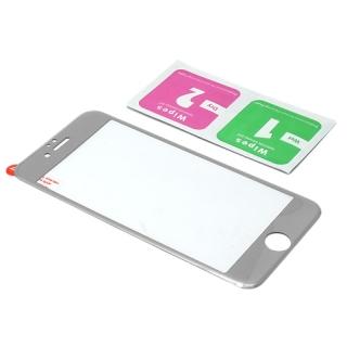 Folija za zastitu ekrana GLASS FULL COVER 3D za Iphone 6G/6S srebrna