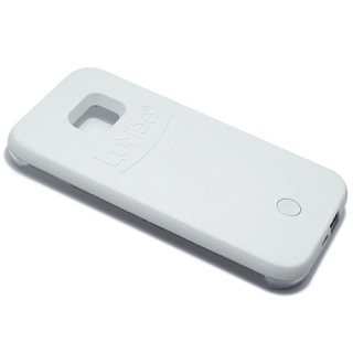 Futrola PVC LUMEE SELFIE za Samsung G920 Galaxy S6 bela