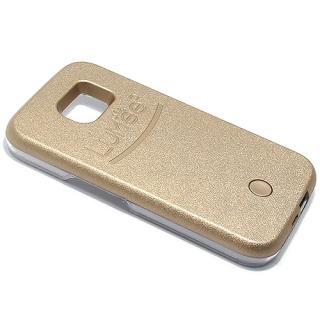 Futrola PVC LUMEE SELFIE za Samsung G920 Galaxy S6 zlatna