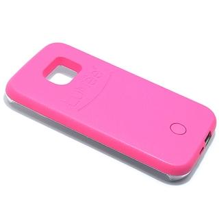 Futrola PVC LUMEE SELFIE za Samsung G925 Galaxy S6 Edge pink