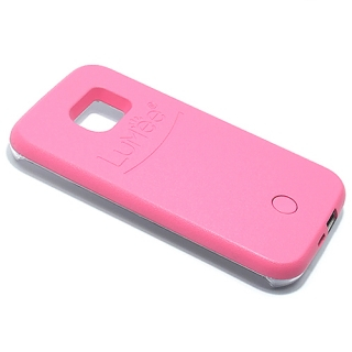 Futrola PVC LUMEE SELFIE za Samsung G925 Galaxy S6 Edge roze