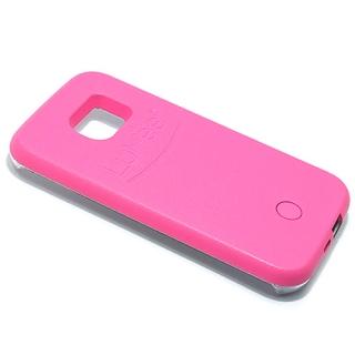 Futrola PVC LUMEE SELFIE za Samsung G930 Galaxy S7 pink