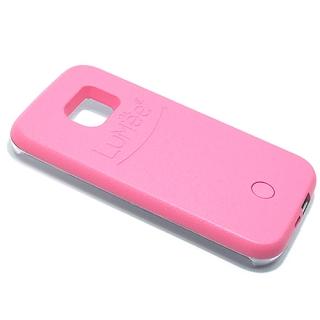 Futrola PVC LUMEE SELFIE za Samsung G930 Galaxy S7 roze