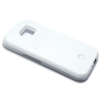 Futrola PVC LUMEE SELFIE za Samsung G935 Galaxy S7 Edge bela