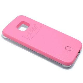 Futrola PVC LUMEE SELFIE za Samsung G935 Galaxy S7 Edge roze