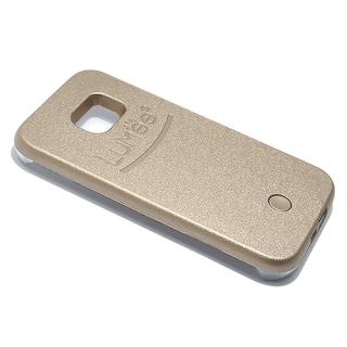 Futrola PVC LUMEE SELFIE za Samsung G935 Galaxy S7 Edge zlatna
