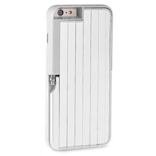 Futrola SELFIE STICK + AB SHUTTER za Iphone 6G/6S bela