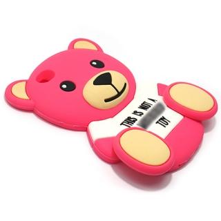 Futrola GUMENA TEDDY TOY za Huawei P8 Ascend pink