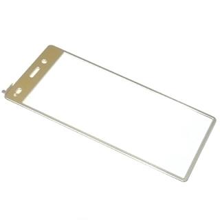 Folija za zastitu ekrana GLASS COLOR za Huawei P8 Lite Ascend zlatna