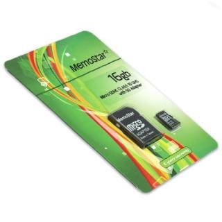 Memorijska kartica MemoStar Micro SD 16GB Class 10 UHS + SD adapter