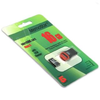 Memorijska kartica MemoStar Micro SD 16GB Class 10 UHS + USB citac
