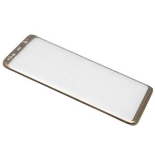 Folija za zastitu ekrana GLASS 3D za Samsung G955F Galaxy S8 Plus zakrivljena zlatna