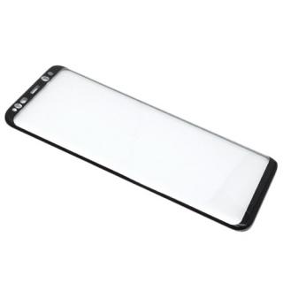 Folija za zastitu ekrana GLASS 3D za Samsung G955F Galaxy S8 Plus zakrivljena crna