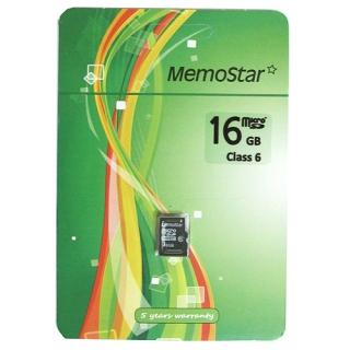 Memorijska kartica MemoStar Micro SD 16GB Class 6