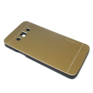 Futrola MOTOMO ALU metal za Samsung A300 Galaxy A3 zlatna