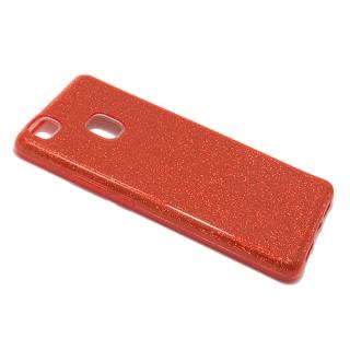 Futrola silikon GLITTER SHOW YOURSELF za Huawei P9 Lite crvena