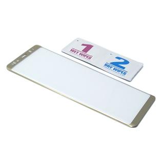Folija za zastitu ekrana GLASS 3D za Samsung N950F Galaxy Note 8 zakrivljena zlatna