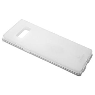 Futrola silikon DURABLE za Samsung N950F Galaxy Note 8 bela