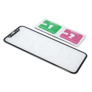 Folija za zastitu ekrana GLASS 5D za Iphone X crna