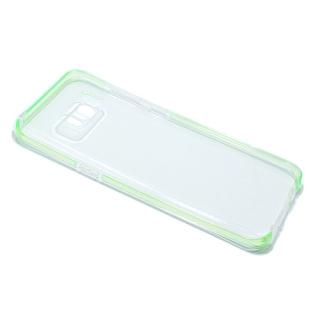 Futrola PLATINA CLEAR za Samsung G955F Galaxy S8 Plus zelena