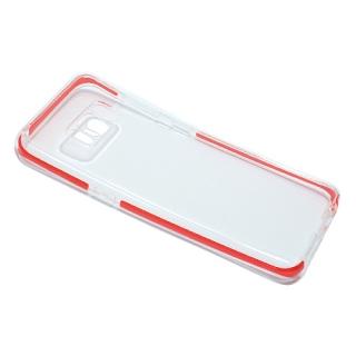 Futrola PLATINA CLEAR za Samsung G950F Galaxy S8 crvena