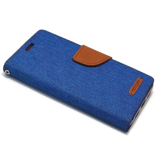 Futrola BI FOLD MERCURY Canvas za Iphone 7/Iphone 8 plava