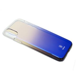 Futrola BASEUS Glaze za Iphone X/ Iphone XS crno-ljubicasta