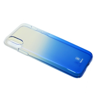 Futrola BASEUS Glaze za Iphone X/ Iphone XS plava