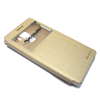 Futrola NILLKIN sparkle za Huawei Honor 7 zlatna