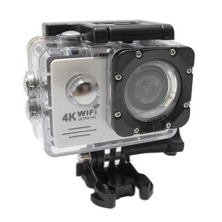 ACTION kamera Comicell J530R 4K Ultra HD Wi-Fi bela