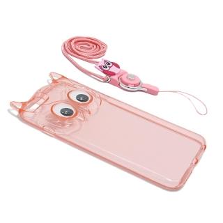 Futrola OWL za Iphone 6 Plus roze