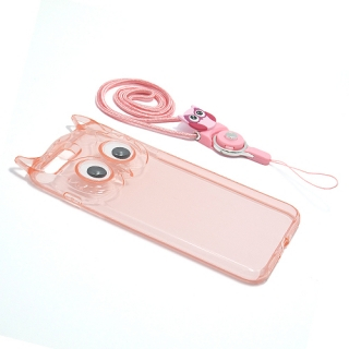Futrola OWL za Iphone 7 Plus/Iphone 8 Plus roze
