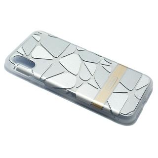 Futrola PLATINA NEW za Iphone X srebrna