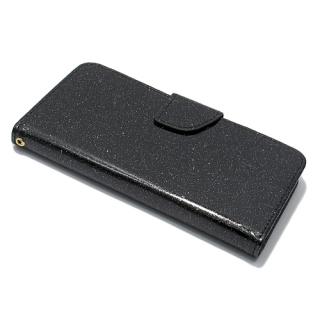 Futrola BI FOLD GLITTER za Huawei P10 Lite crna