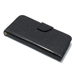 Futrola BI FOLD GLITTER za Samsung G935 Galaxy S7 Edge crna